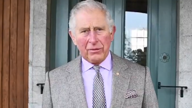 Prince Charles Twitter video to message to firefighters and bushfire victims.