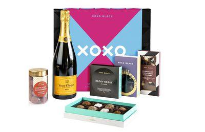 Koko Black Champagne and Truffles Valentine's Day Hamper, $199
