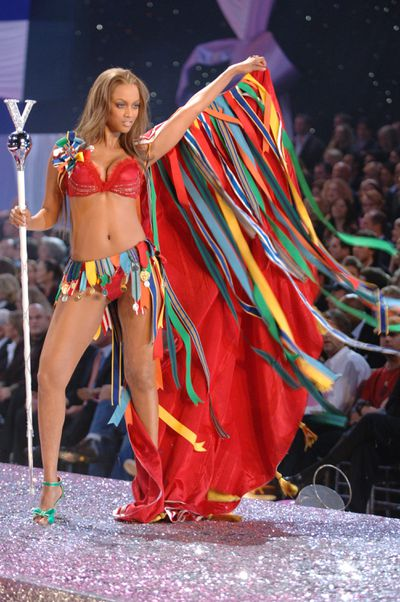 <p>8. Tyra Banks.</p> <p>Before becoming a television mogul, Tyra Banks was a Victoria's Secret runway regular from 1997 to 2005. </p>