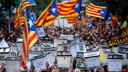 For many Catalans, the vote for independence has become a symbol of their long fight for self-determination from the rest of Spain.