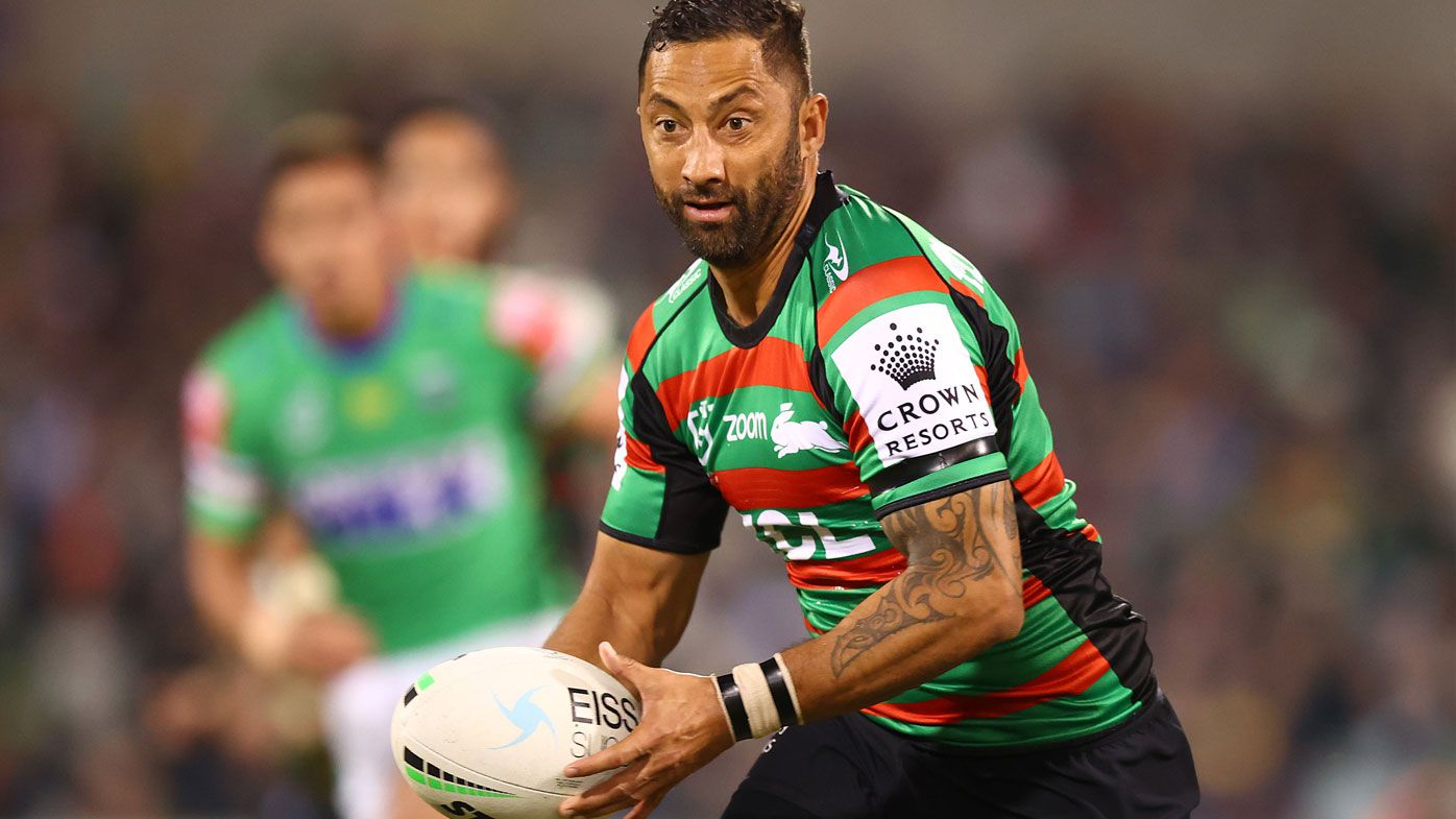 Benji Marshall stars for South Sydney over the Raiders. (Getty)