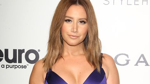 Ashley Tisdale Elton John's AIDS Foundation Oscars Viewing Party