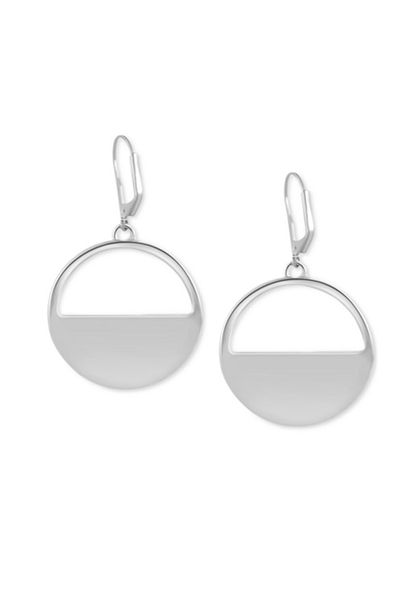"<a href=""http://www1.macys.com/shop/product/t-tahari-silver-tone-circle-cut-out-drop-earrings?ID=2540861"" target=""_blank"">TTahari cut-out drop earrings, $49 at Macys.com</a>"