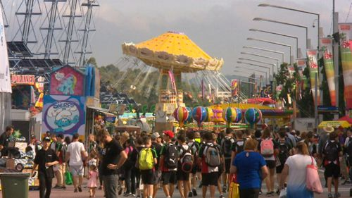 Thousands of people attend the iconic Sydney Royal Easter show each year. (9NEWS)