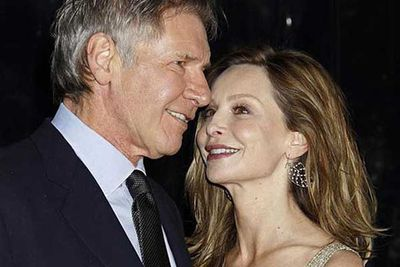 Harrison Ford finally married <i>Ally McBeal </i>star Calista Flockhart at Santa Fe, New Mexico this June.