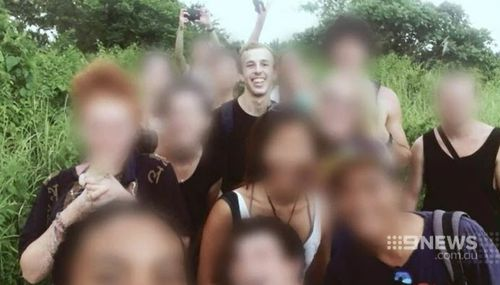 Oliver Bridgeman reportedly converted to Islam after becoming friends with several Muslim students at the school. (9NEWS)