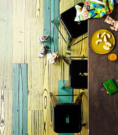 Pop-art planks