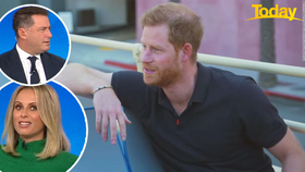 Karl and Sylvia divided over Prince Harry's interview