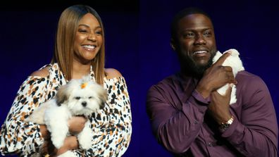 Tiffany Haddish, Kevin Hart, Secret Life of Pets 2, promo tour