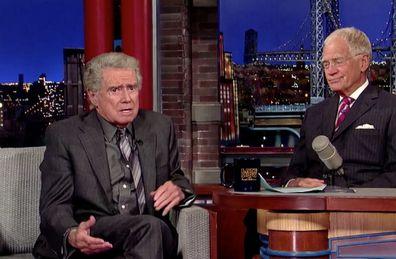 David Letterman, Regis Philbin