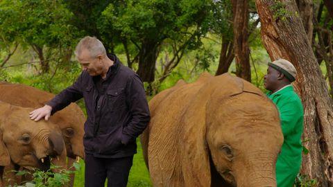 David Reyne in Africa as seen on Getaway 2020.