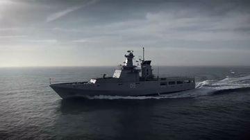 Offshore patrol vessel construction begins in South Australia