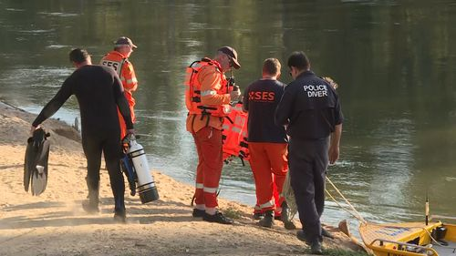 The NSW State Emergency Service assisted local police in hunting for the body of the Junee man.