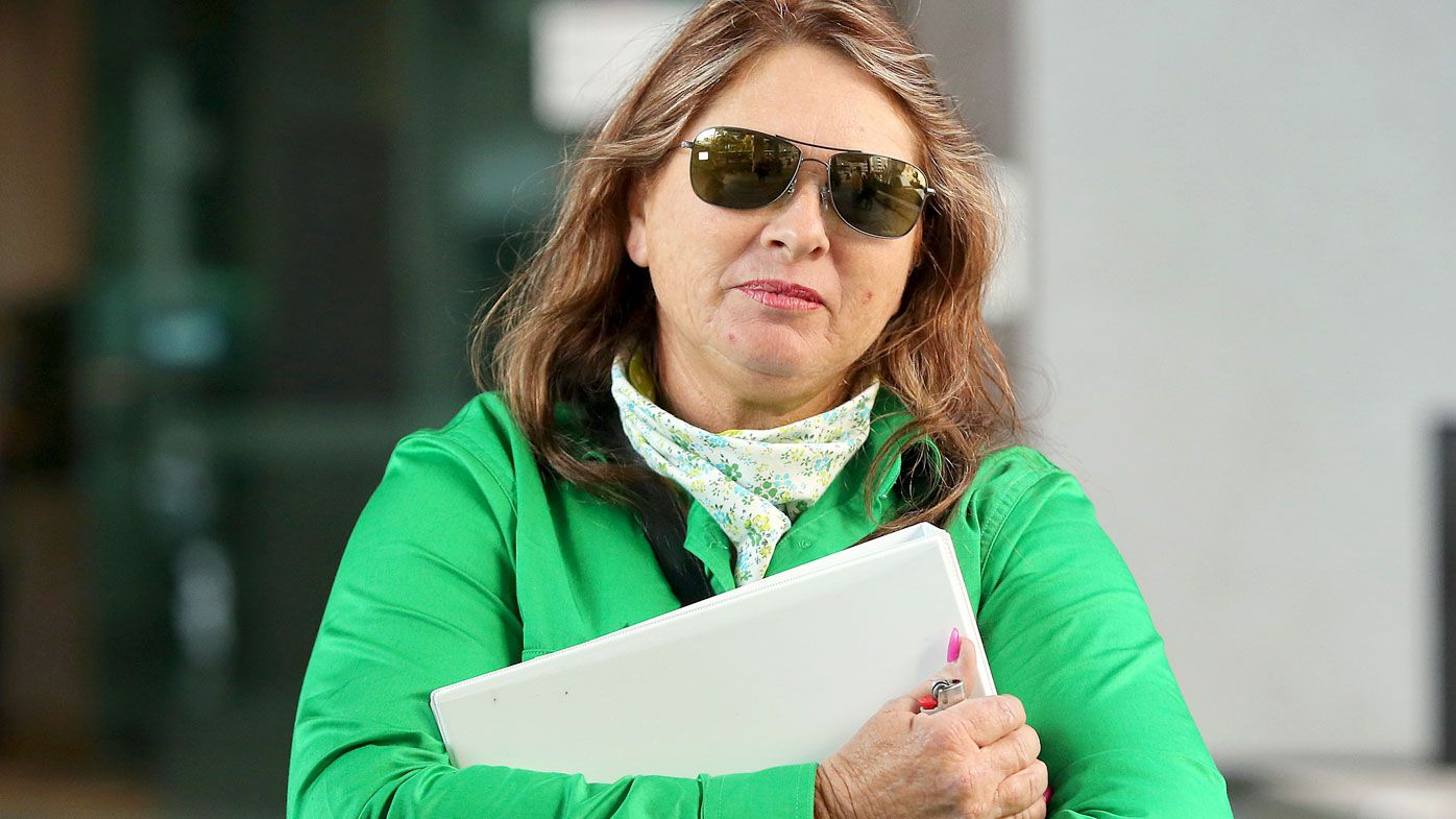 Farmer Deborah Smith at the Brisbane Magistrates Court. (AAP)