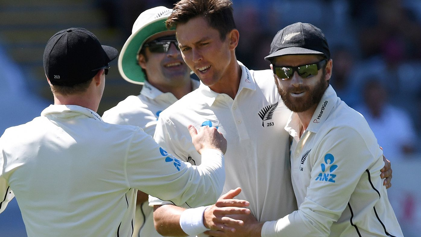England reeling as New Zealand dominate first Test in Auckland
