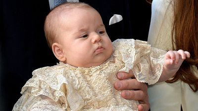 The royal christening gown