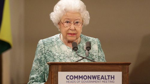 "The Queen said it is a ""great pleasure and honour to serve you as Head of the Commonwealth."" (AAP)"