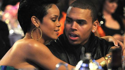 Back together? Rihanna and Chris Brown partied at the same club last night