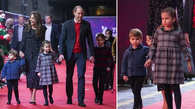 Princess Charlotte steals the show at rare Cambridge family outing