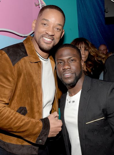 Will Smith and Kevin Hart