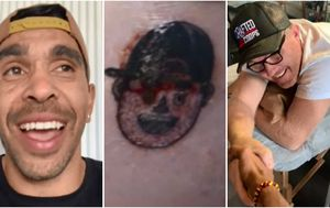 Brother-in-law of Adelaide Crows star Eddie Betts gets tattoo after bizarre bet