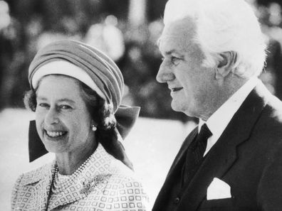 Queen Elizabeth and Sir John Kerr