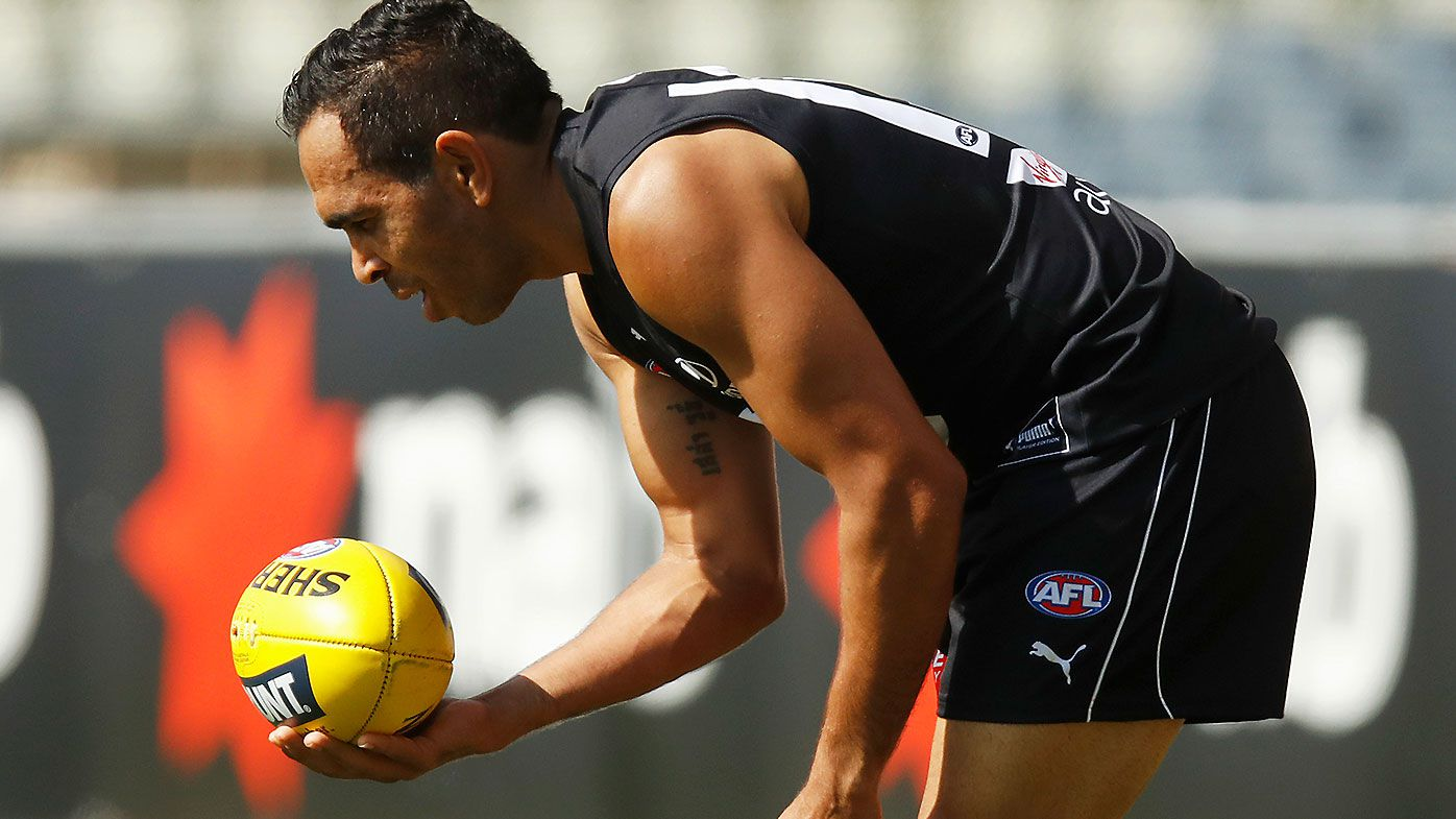 Eddie Betts displays mercurial skills in practice hit-out against Collingwood