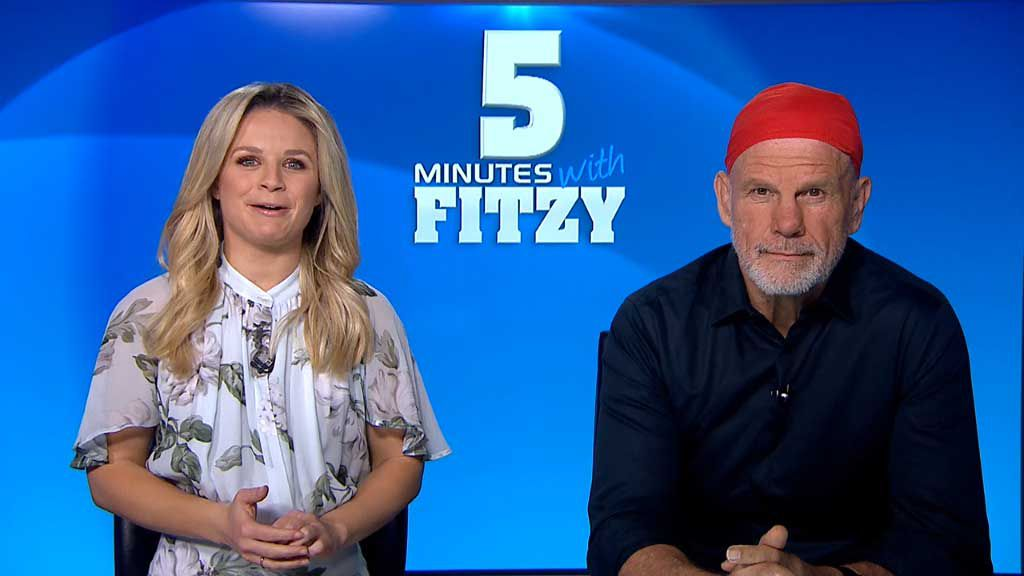Five minutes with Fitzy