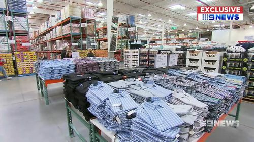 Costco says they discount the items as heavily as they can. Picture: 9NEWS