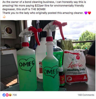Cleaning Hack: The DIY cleaner renamed 'Miracle OMFG Spray