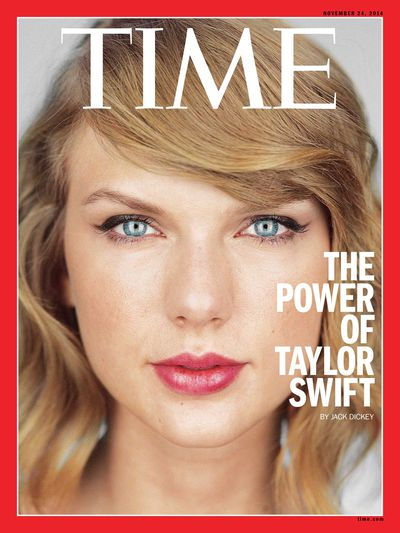 Taylor Swift for <em>Time</em> December 2014