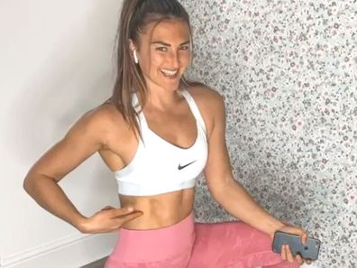 Fitness influencer and personal trainer Hayley Madigan