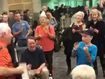 Singalong in departure lounge makes time fly for delayed passengers