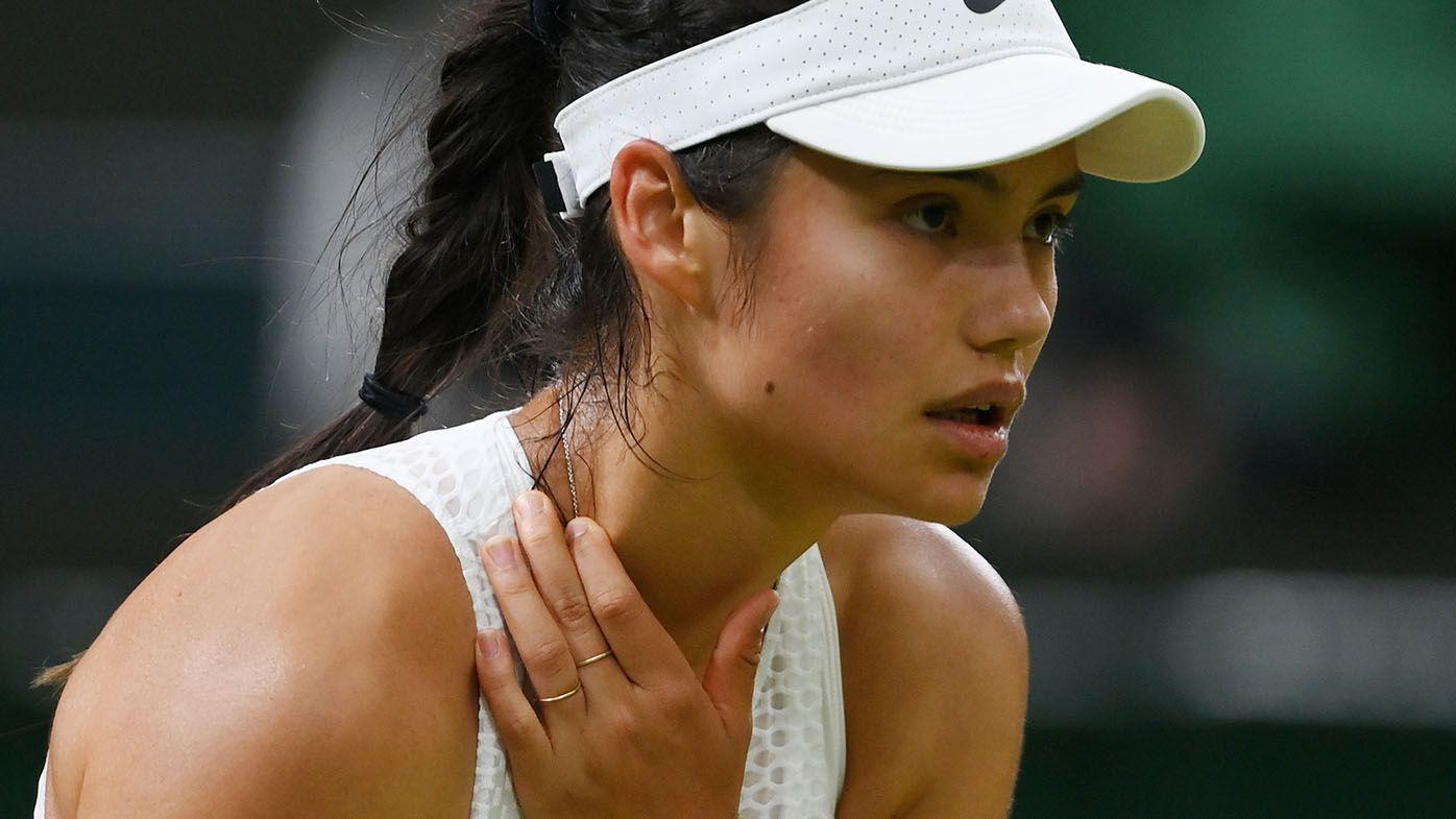Wimbledon 2021: Emma Raducanu says medicos advised retirement from fourth round match