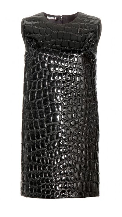 "<p><a href=""http://www.mytheresa.com/en-au/textured-shift-dress.html"" target=""_blank"">Dress, $1970, Miu Miu at mytheresa.com</a></p>"
