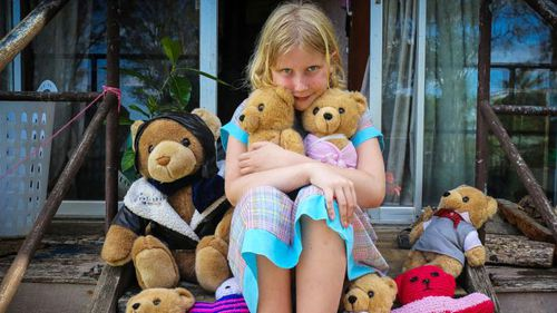Andrew Humphreys claims his daughter Paige caught an infection at the Lismore hospital in 2007 that is slowly killing her. (Supplied)