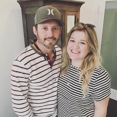 Kelly Clarkson, Brandon Blackstock, selfie, Instagram