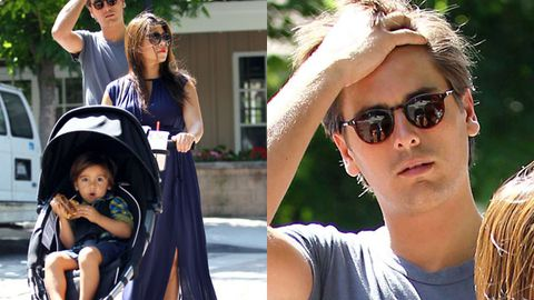 Scott Disick 'messier than ever', Kourtney won't let him hold their new baby