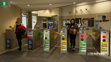 VIDEO: Sydney commuters charged peak hour fares over the holidays