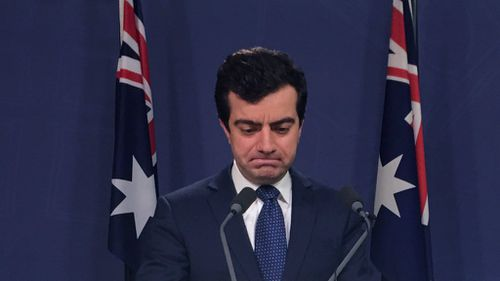 Sam Dastyari has resigned from Labor's frontbench. (AAP)