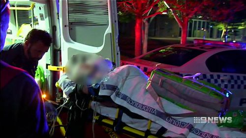 The man aged in his 50s remains in a critical condition. (9NEWS)