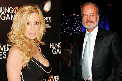 """Camille, the wife of Cheers and Frasier actor; Kelsey Grammer, joined the Beverly Hills show in 2010, with the pair filing for divorce that same year.  Camille claimed Kelsey pushed her onto the show to get away with his affair with half-his-age flight attendant Kayte Walsh:  <br/><br/>""""I really didn't want to do. I was very reluctant, because I am a very private person,"""" the ex Playboy model said. """"Maybe he wanted to keep me preoccupied in California while he was having his affair in New York,"""" Later, Kelsey admitted on a talk show he should have fessed up to the cheating sooner, and not let it all play out for the cameras.  Ahhh yeah, that would have been smart."""