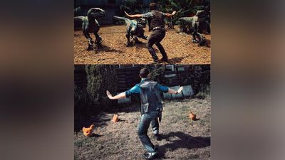 "(Twitter/@slayer1551)<br _tmplitem=""1""><br _tmplitem=""1"">Zookeepers around the world have attempted their best Jurassic World impressions, recreating the scene featuring Owen Grady (Chris Pratt) controlling a herd of raptors.<br _tmplitem=""1""><br _tmplitem=""1"">Click through the gallery to see the attempts from all around the world."