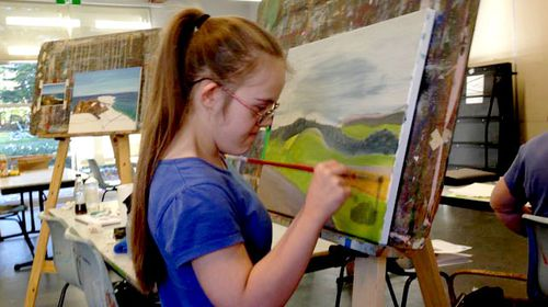 New York art dream comes true for Sydney teen with Down syndrome