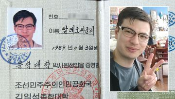 Alek Sigley was arrested in North Korea.