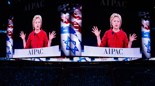 Clinton, Trump exchange blows in struggle to secure pro-Israel support