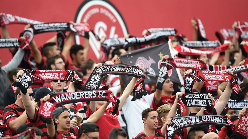 Western Sydney Wanderers fans. (AAP)
