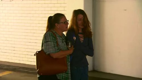 Aimee Cummins (right) is accused of receiving the animal.
