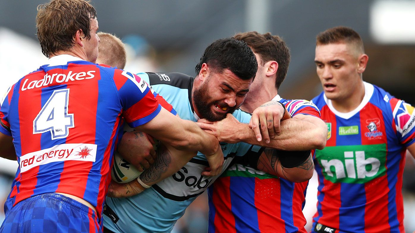 Cronulla Sharks cap emotional week with Newcastle Knights win