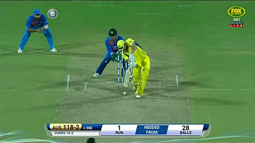Behrendorff destroys India in T20